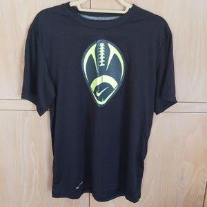 Nike Dri Fit black short sleeve shirt, never worn